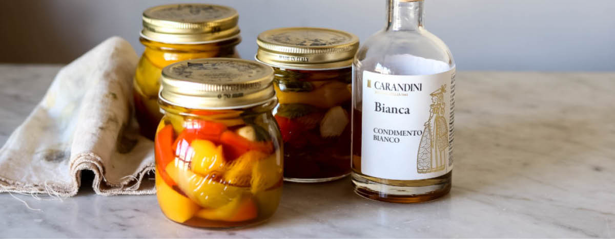Pickled Peppers with Bianca